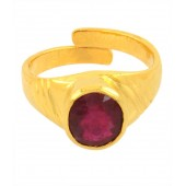 JanmPatrika 3.50 Ratti Igli Certified Panch Dhatu Adjustable Ring