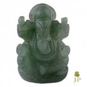 Green Quartz Ganesh Ji