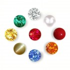 Natural Navratna 2.30 mm 9 Gems For 9 Planets - AAA Quality