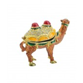 Kriti Creations Fengshui Bejeweled Wish-Fulfilling Brown Camels