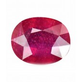 JanmPatrika Certified Gemstone Natural Ruby ( Manik / Surya ) Of 2.99 Ratti / 2.72 Carat , Premium Category
