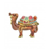 Kriti Creations Bejeweled Fengshui Wish-Fulfilling Red Camels