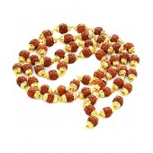 Gupta Rudraksh Collection Brown Small Rudraksh Mala (combo Of 2)