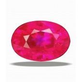 JanmPatrika Certified Gemstone Natural Ruby (manik) Of 11.45 Ratti / 10.41 Carat
