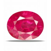 Certified Gemstone NATURAL RUBY ( MANIK / SURYA ) of 5.87 Ratti / 5.34 Carat , ELITE Category
