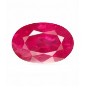JanmPatrika Certified Gemstone Natural Ruby ( Manik / Surya ) Of 3.47 Ratti / 3.15 Carat , Premium Category
