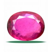 Certified Gemstone NATURAL RUBY ( MANIK / SURYA ) of 15.38 Ratti / 13.98 Carat , ELITE Category