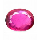 JanmPatrika Certified Gemstone Natural Ruby ( Manik / Surya ) Of 4.35 Ratti / 3.95 Carat , Premium Category