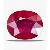 JanmPatrika Certified Gemstone Natural Ruby ( Manik / Surya ) Of 6.78 Ratti / 6.16 Ct, Delux Category