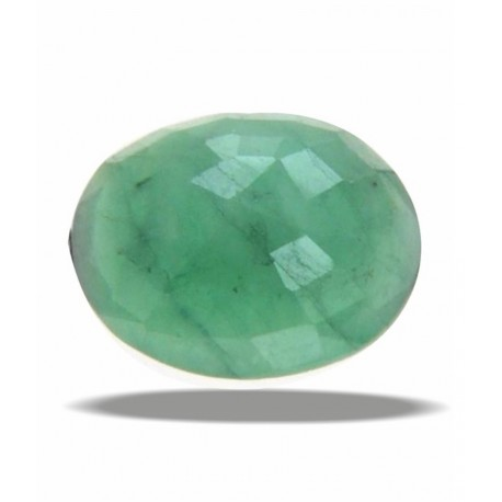 JJE Certified Gemstone Natural Emerald (panna) Of 5.79 Ratti / 5.26 Carat, Delux Category