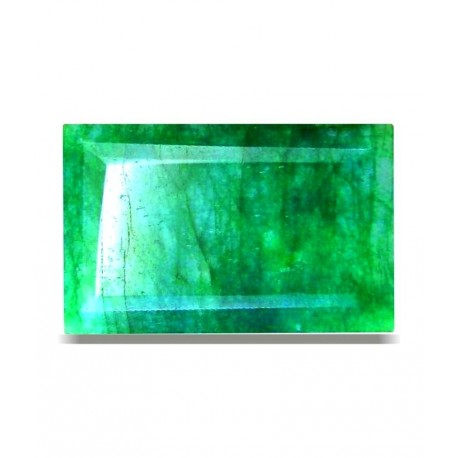 JJE Certified Gemstone Natural Emerald ( Panna / Budh ) Of 6.41 Ratti / 5.83 Ct, Delux Category